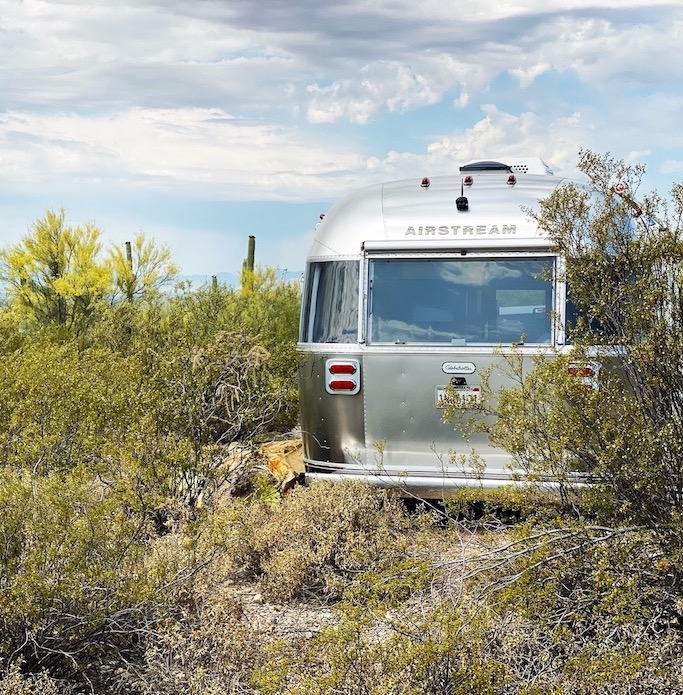 RV camping on land owned in Arizona